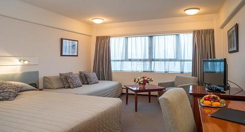 Bay Plaza Hotel, Wellington, NZ.  Photo credit: Stephen A'Court.  COPYRIGHT ©Stephen A'Court